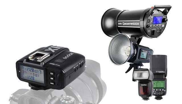 Compatibilidad directa Godox X1 y flashes con receptor integrado