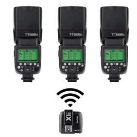 Pack 3 flashes Strobo PRO Sony de Godox