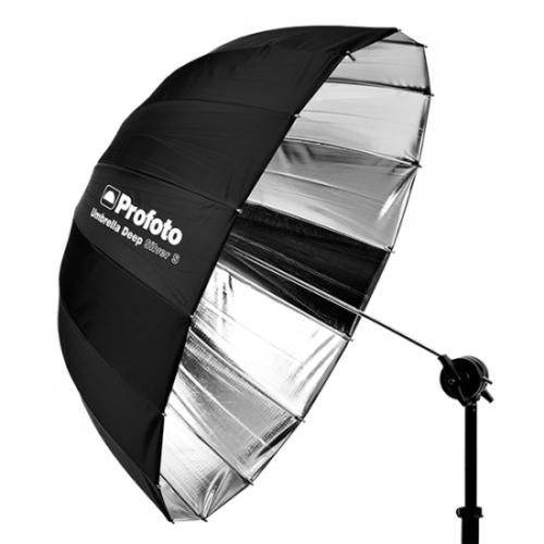 Paraguas Profoto umbrella deep plateado m