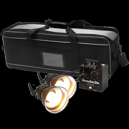 Profoto Acute2R Value Kit 1200W con dos antorchas Acute/D4