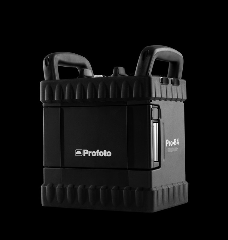 Generador de estudio Profoto Pro-B4 1000 Air de color negro