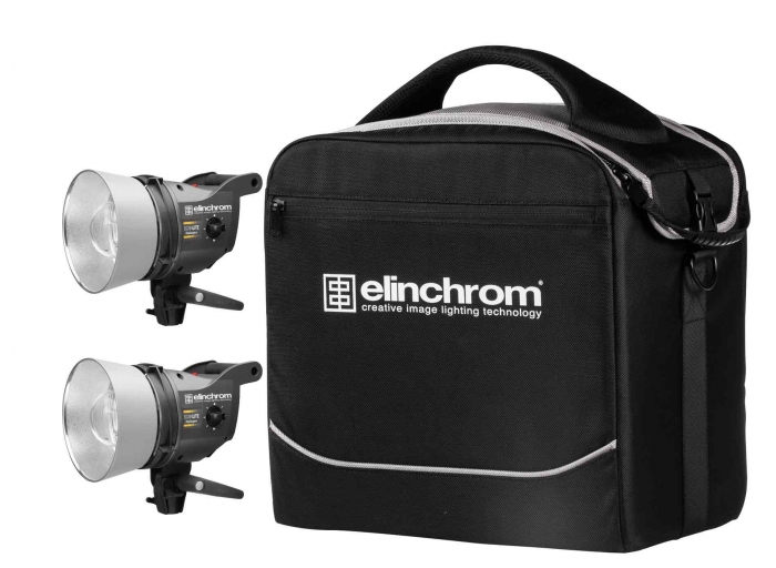 Kit 2 antorchas Elinchrom Scanlite Zoom con maleta