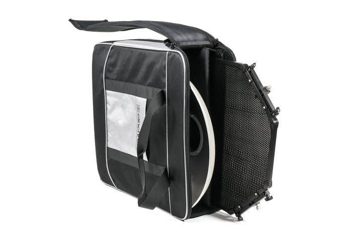 Kit Beauty Dish plateado Elinchrom Softlite de 44cm con panal y maleta
