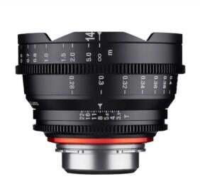 Objetivo para cine Xeen 14mm T3.1