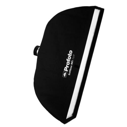Softbox estrecho Profoto RFI de 30x120cm inclinado