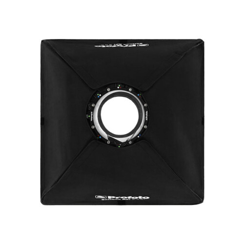 Vista trasera Softbox cuadrado Profoto RFi de 60x60cm para luz simétrica