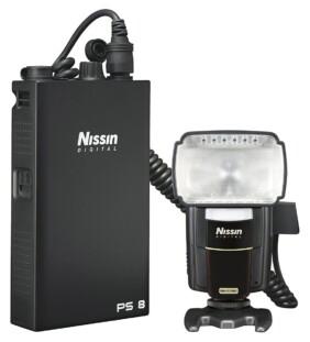 Nissin MG8000 Extreme con batería PS8