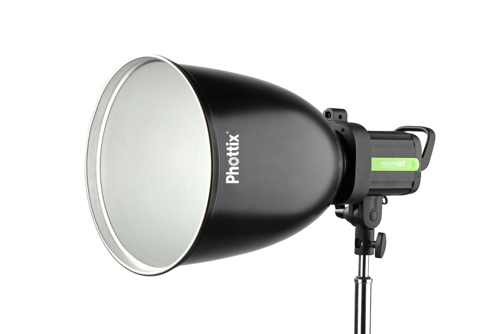 Reflector para flash de estudio de largo alcance Phottix