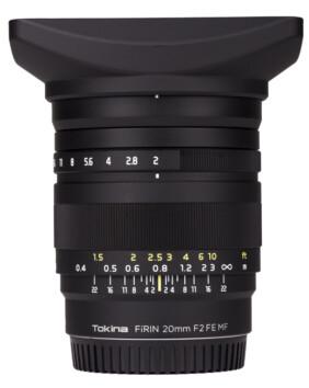Tokina Fírin 20mm F2 EF MF para Sony E Full Frame