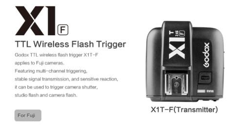 Emisor maestro Godox X1 T-F Fujifilm