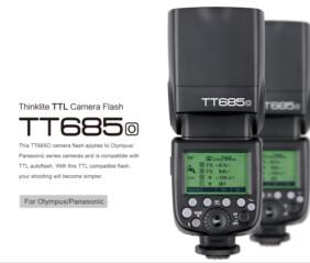 Flash Godox TT658 Olympus