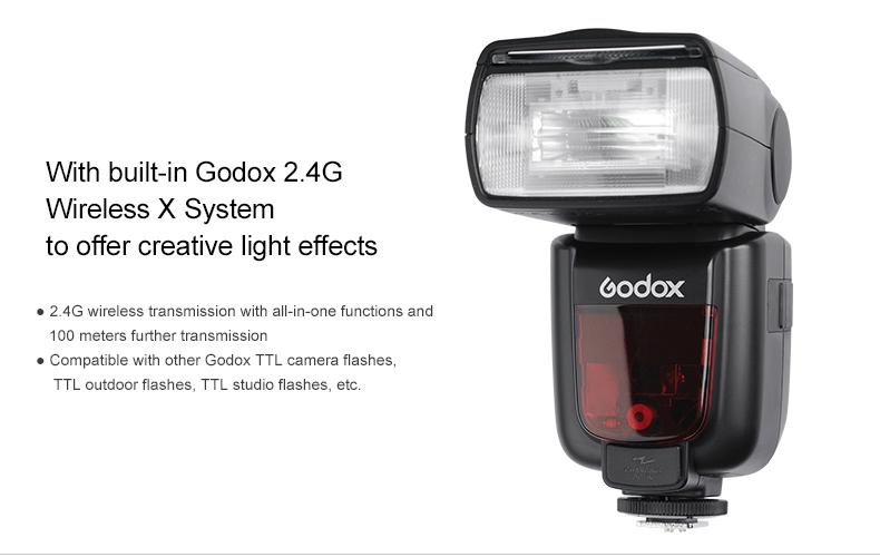 Frontal Godox TT658 Fuji