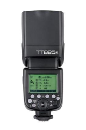 Godox TT685 para Nikon vista trasera