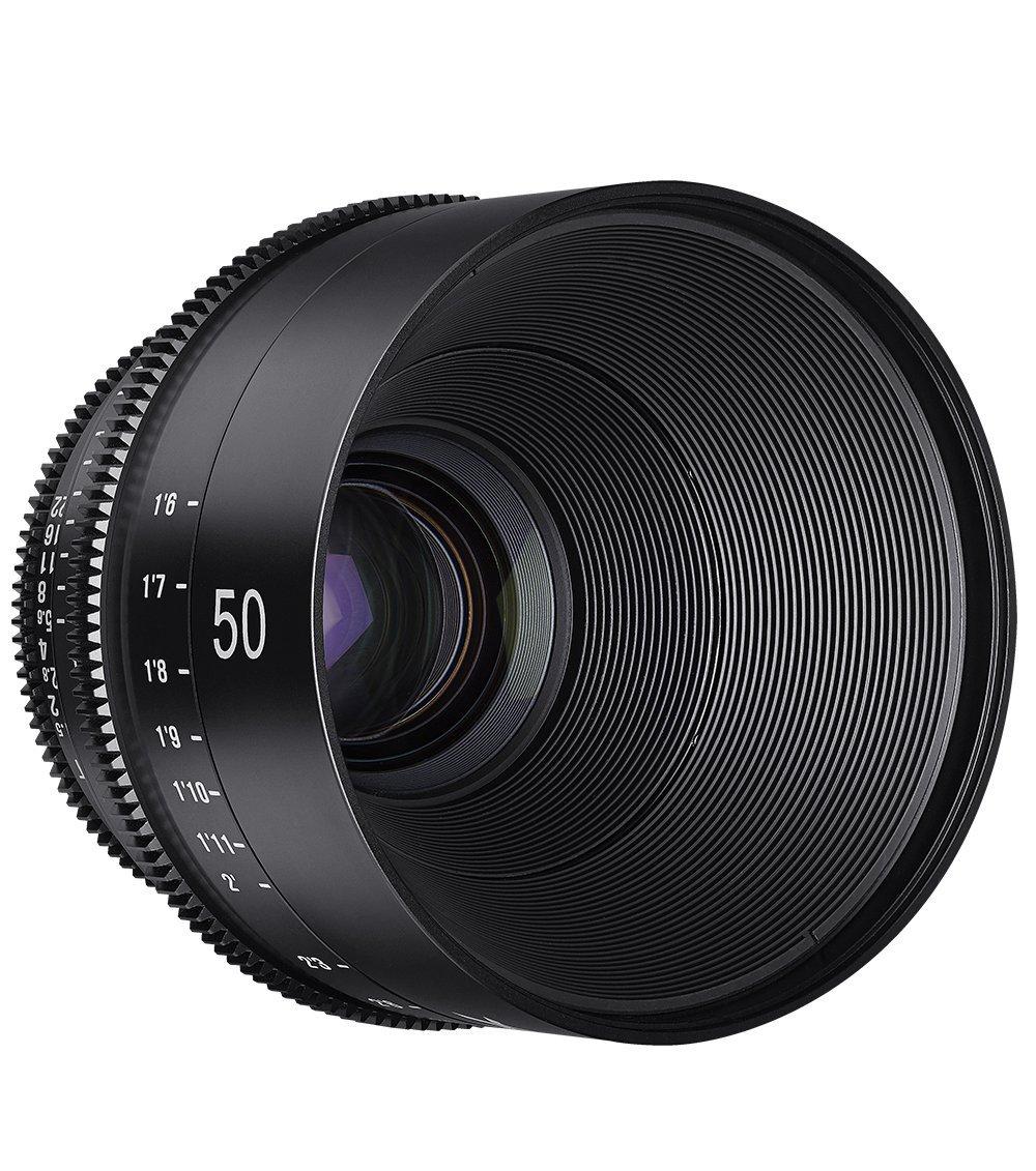 Frontal Xeen 50mm T1.5