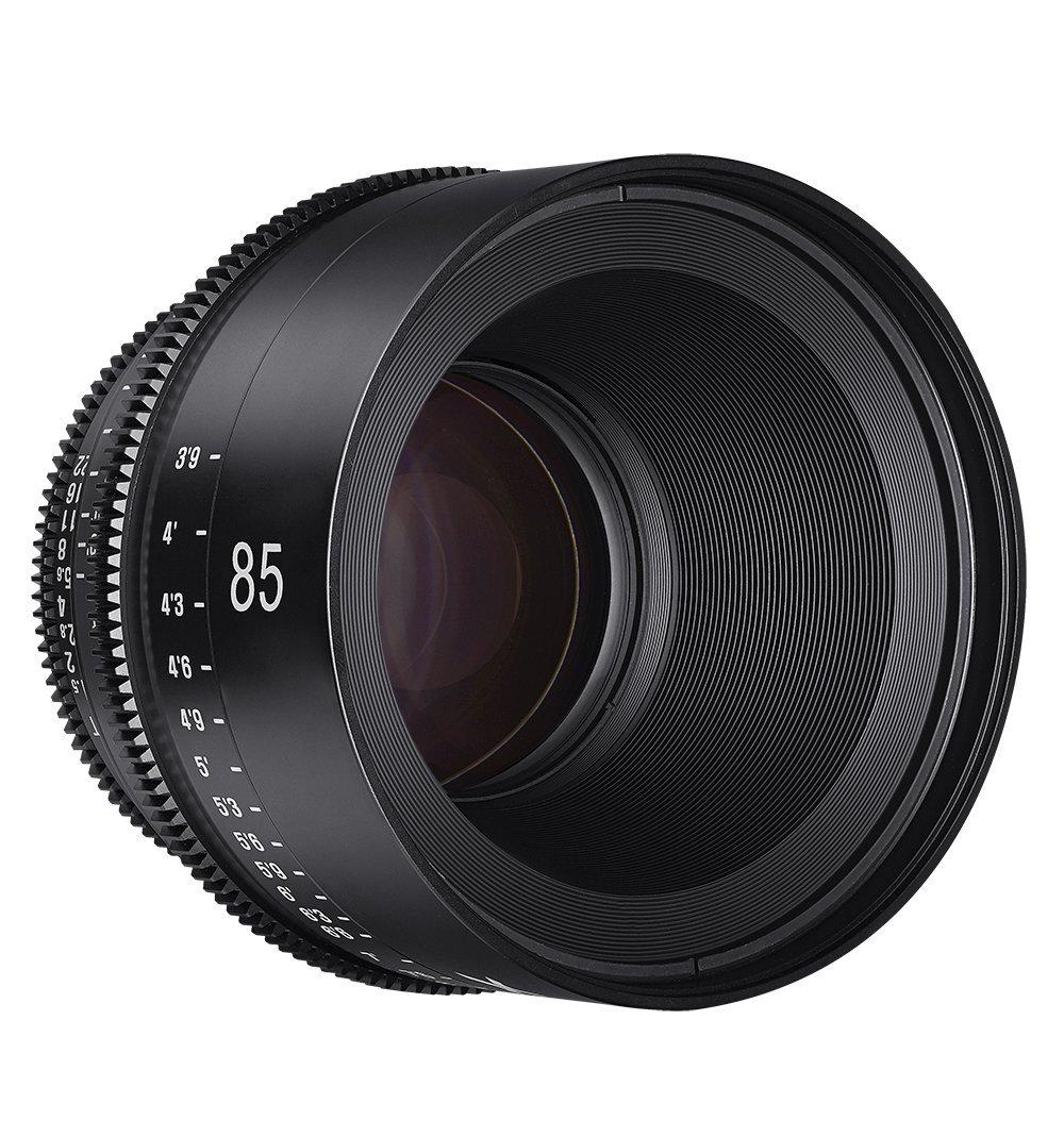 Vista frontal Xeen 85mm T1.5