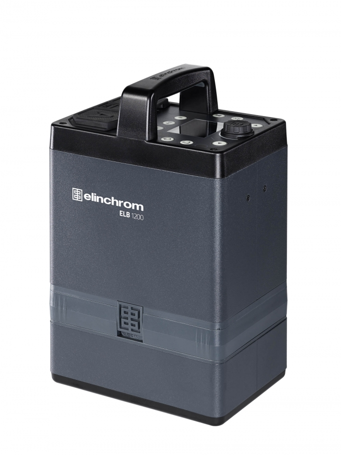 Generador Elinchrom ELB 1200 con batería