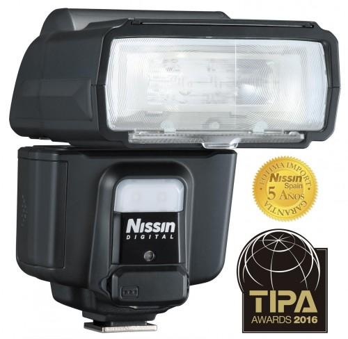 Nissin i60 A premiado en Tipa con 5 años de garantía