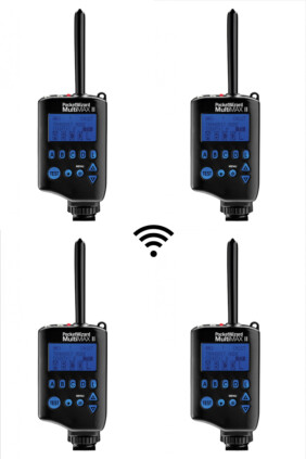 Pack 4x PocketWizard Multimax II