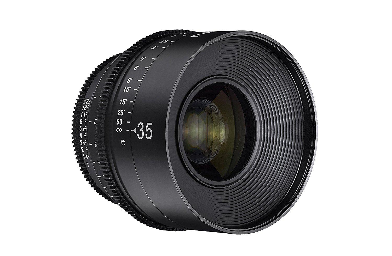 Objetivo para cine Xeen 35mm T1.5 para cinematografía en 4K