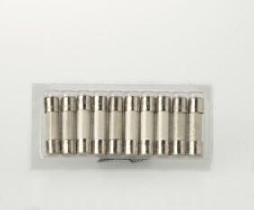 Blister con 10 fusibles Hedler de 2A para recambio 200/300W