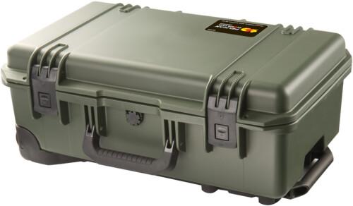 Trolley Pelican Storm iM2500con válvula Vortex® y foam de color verde