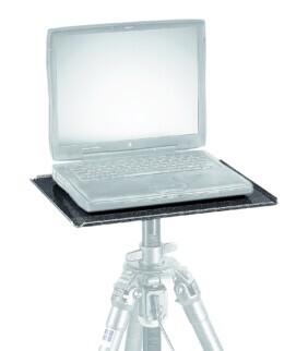 Mesa para trípode Gitzo de aluminio para portátil o monitor con viseras