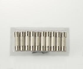10 fusibles Hedler 63.3 A (1000 W.) en blister para recambio