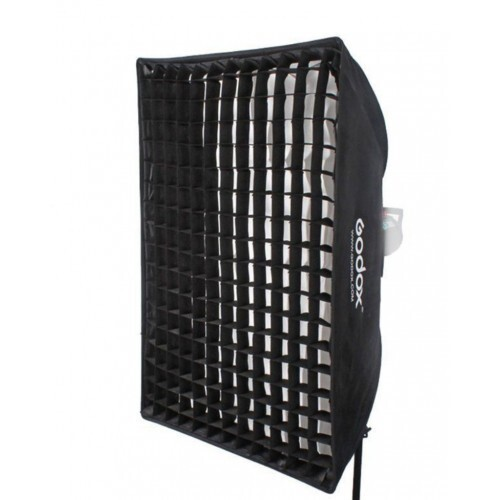 Softbox Godox 70 x 100 cm con grid Bowens con panal y bolsa