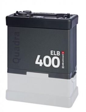 Generador autónomo Elinchrom ELB 400 sin batería