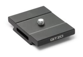 Zapata rápida Gitzo de aluminio perfil D corto