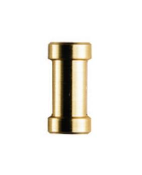 Adaptador corto espigote hembra 1/4''+3/8'' Manfrotto