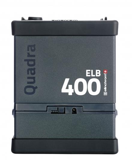 Generador autónomo Elinchrom ELB 400 con batería