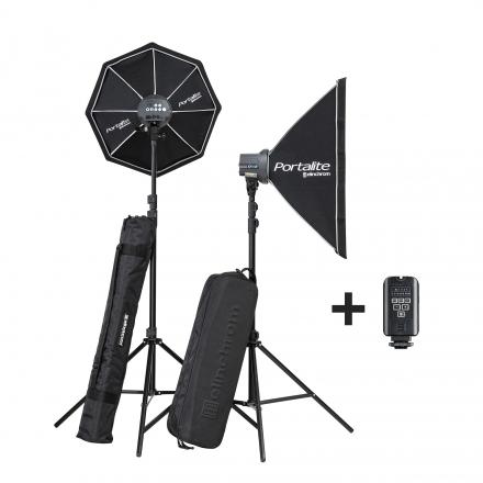 Kit Elinchrom D-Lite One/One Softbox To Go con ventanas bolsas y emisor