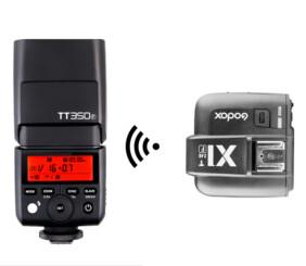 Pack flash más trigger para Fujifilm Strobo CSC HSS y TTL