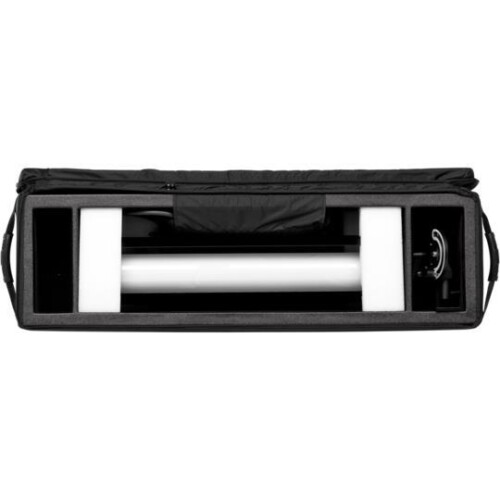 Interior maleta con Profoto StripLight de ejemplo