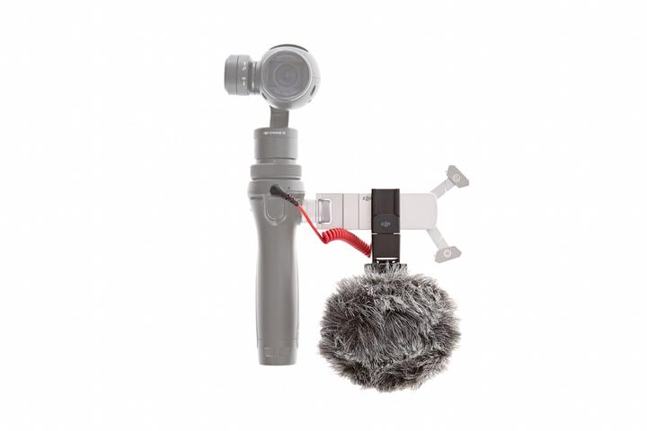 Vista montaje microfono RODE