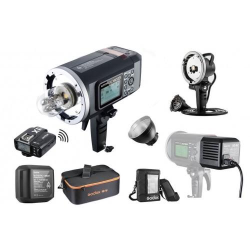 Kit Godox AD600B PRO TTL para Olympus/Panasonic