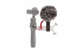 Micrófono Rode con cable y soporte para DJI Osmo