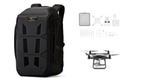 Kit Phantom Pro 4 + Lowepro DroneGuard BP 450 AW