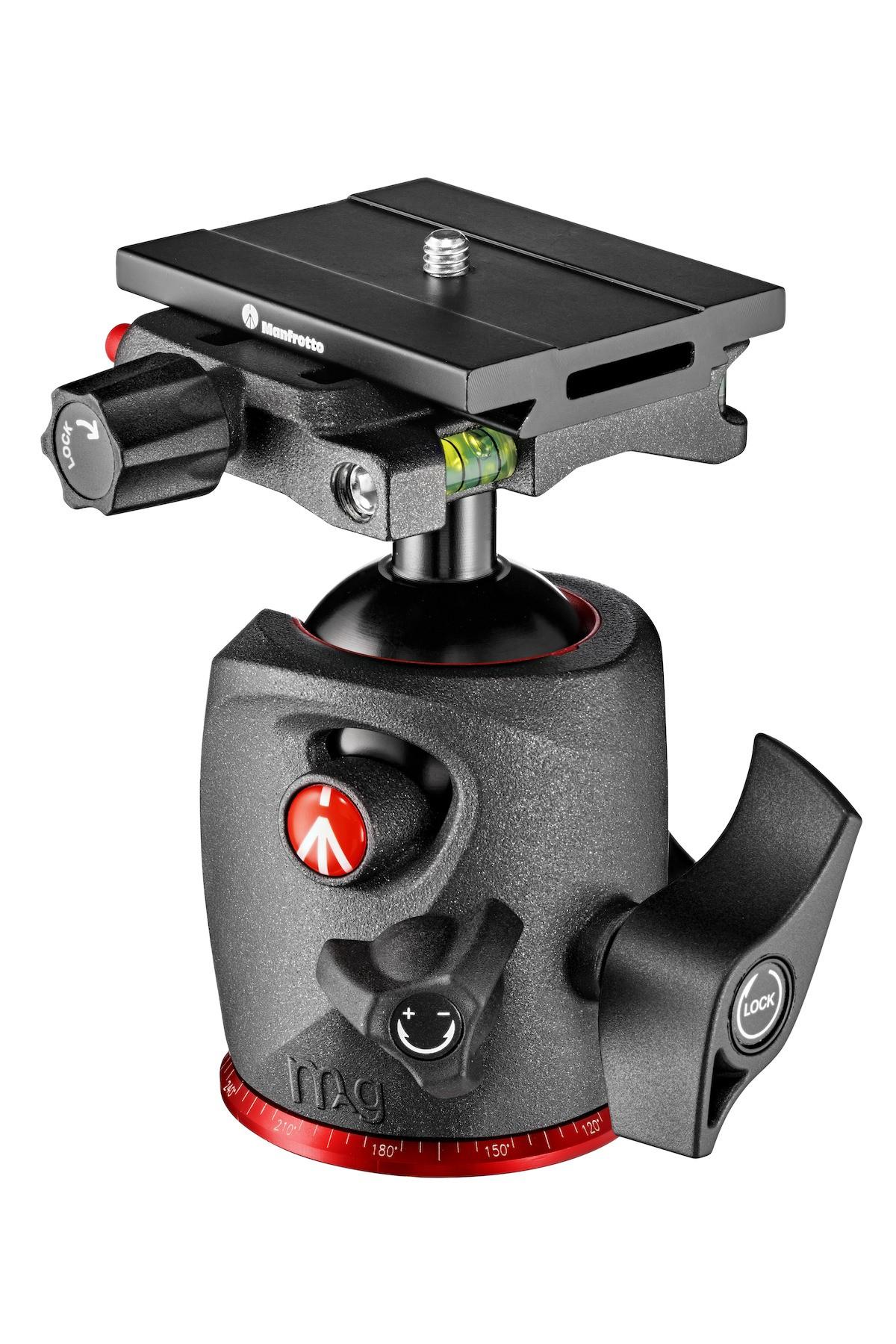 Rótula de bola Manfrotto X-Pro Top Lock vista derecha