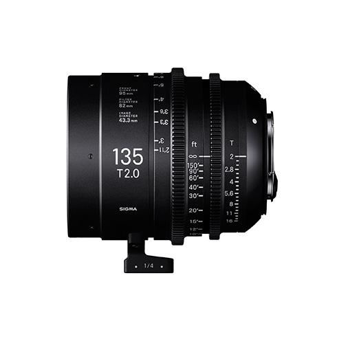 Sigma 135mm T2 FF cine para Sony E