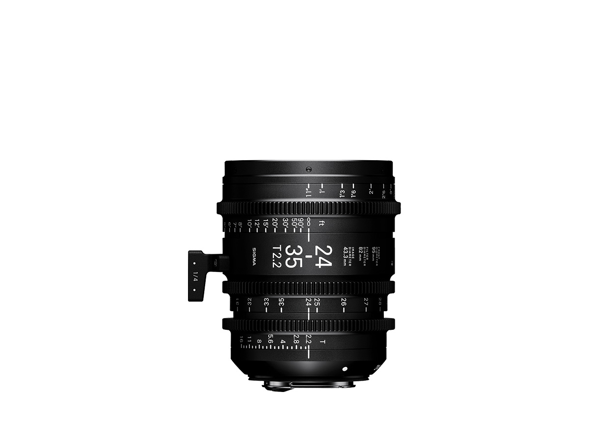 Objetivo Sigma 24-35mm T2.2 FF para cine montura Sony E