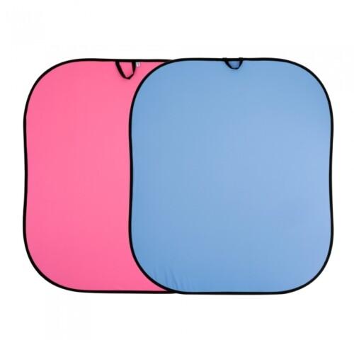 Fondo plegable Lastolite azul / rosa 1.8 x 2.15 m