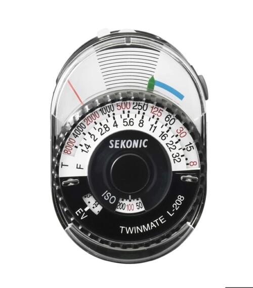 Fotómetro Sekonic L-208 Twin Mate analógico