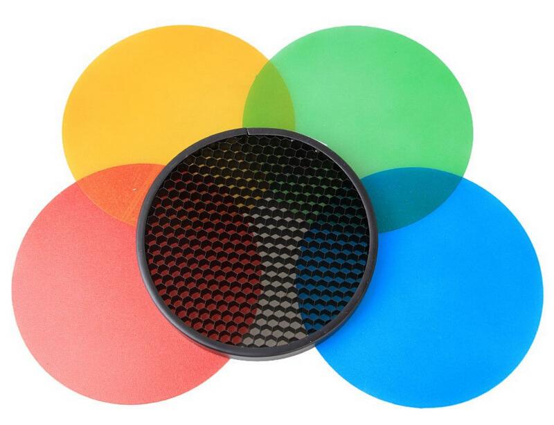 Godox AD-S11 kit de filtros y panal de abeja