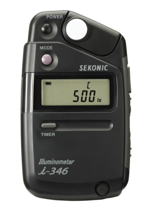 Iluminómetro Sekonic I-346