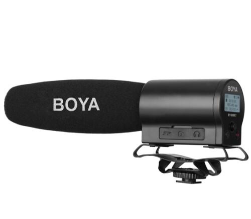 Micrófono de cañón Boya BY-DMR7