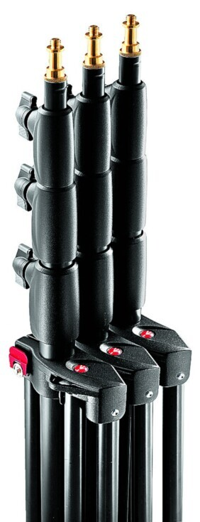 Pack 3 pies de estudio Manfrotto 1051BAC-3