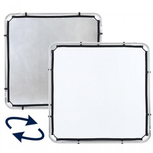 Reflector reversible Lastolite Skylite blanco y plata