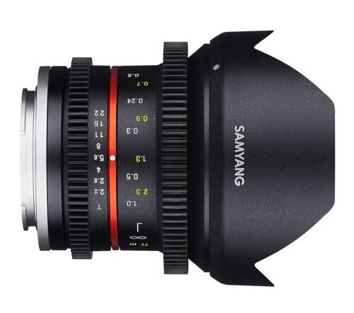 Samyang 12mm T2.2 Cine para Fujifilm